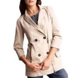 Alexander Wang x Gap Small Trench Khaki Jacket NWT